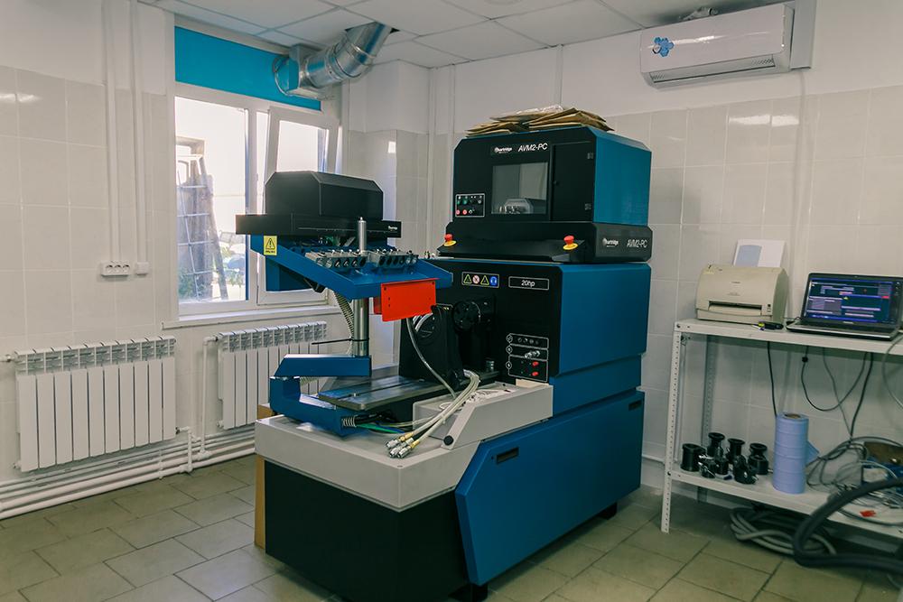 Стенд Hartridge AVM2 PC для проверки и кодирования насос-форсунок и PLD секций автомобилей Ranault, Volvo, DAF